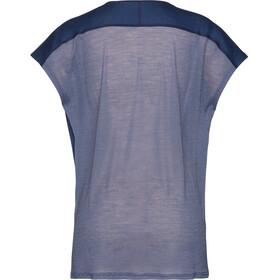 Norrøna Bitihorn Wool - T-shirt manches courtes Femme - bleu
